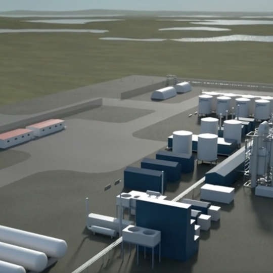 proposed IESP Energy Centre LNG plant