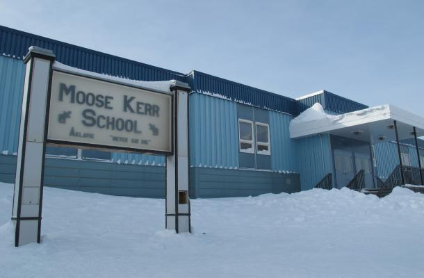 Moose Kerr School in Aklavik.