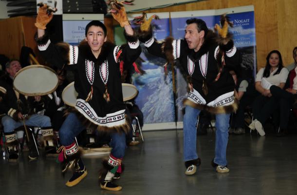 Aklavik Drummers and Dancers.