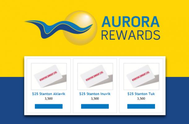Aurora Rewards Now Offering Stanton Gift Cards