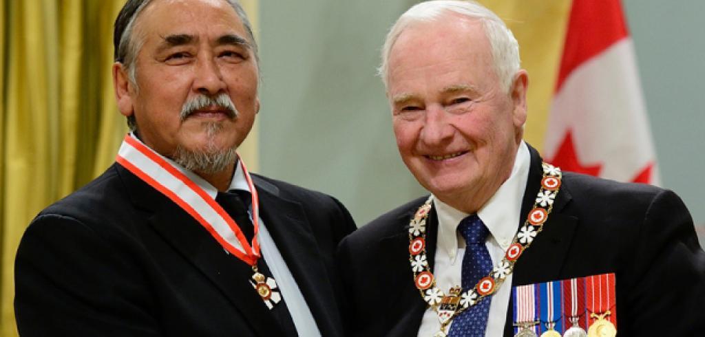 Abraham Anghik Ruben Receives Order of Canada