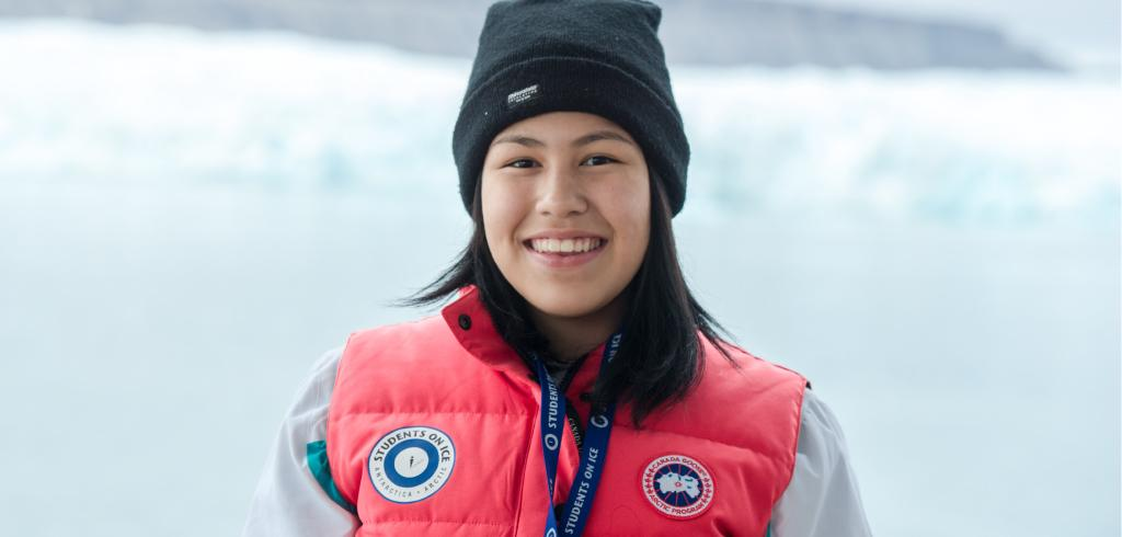 Four Inuvialuit youth took part In the 2017 Students On Ice expedition