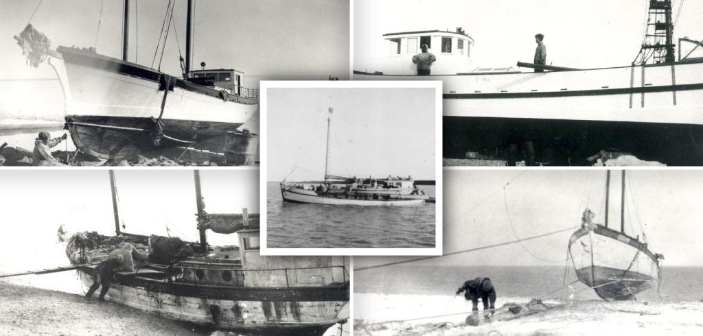 At the height of the trapping era, sources estimate thatthere were up to50 Inuvialuit-owned schooners.