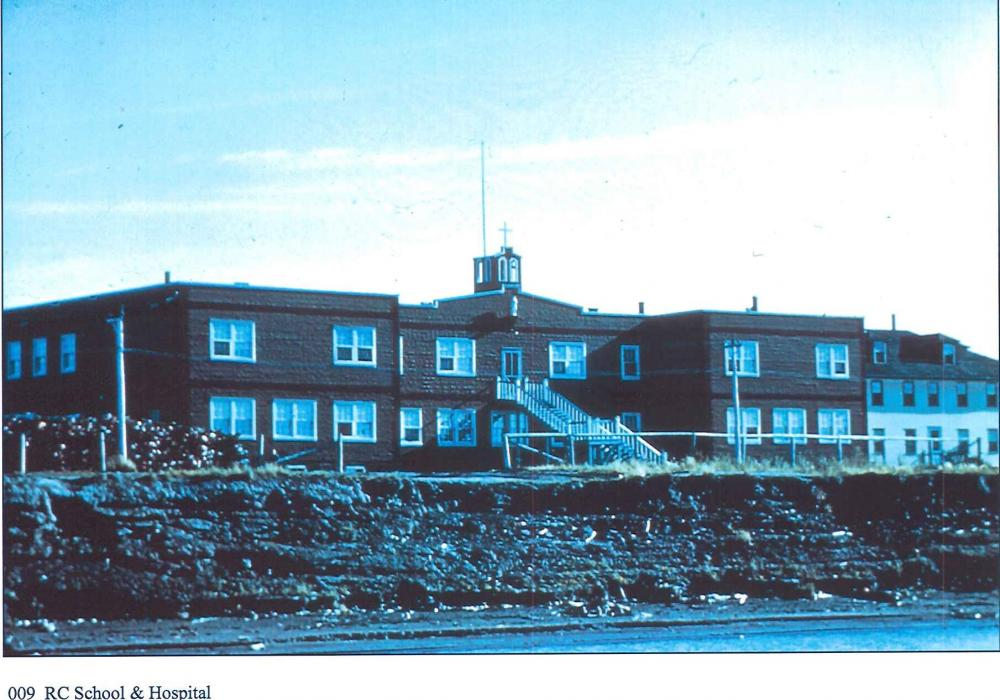 Aklavik, RC School & Hospital