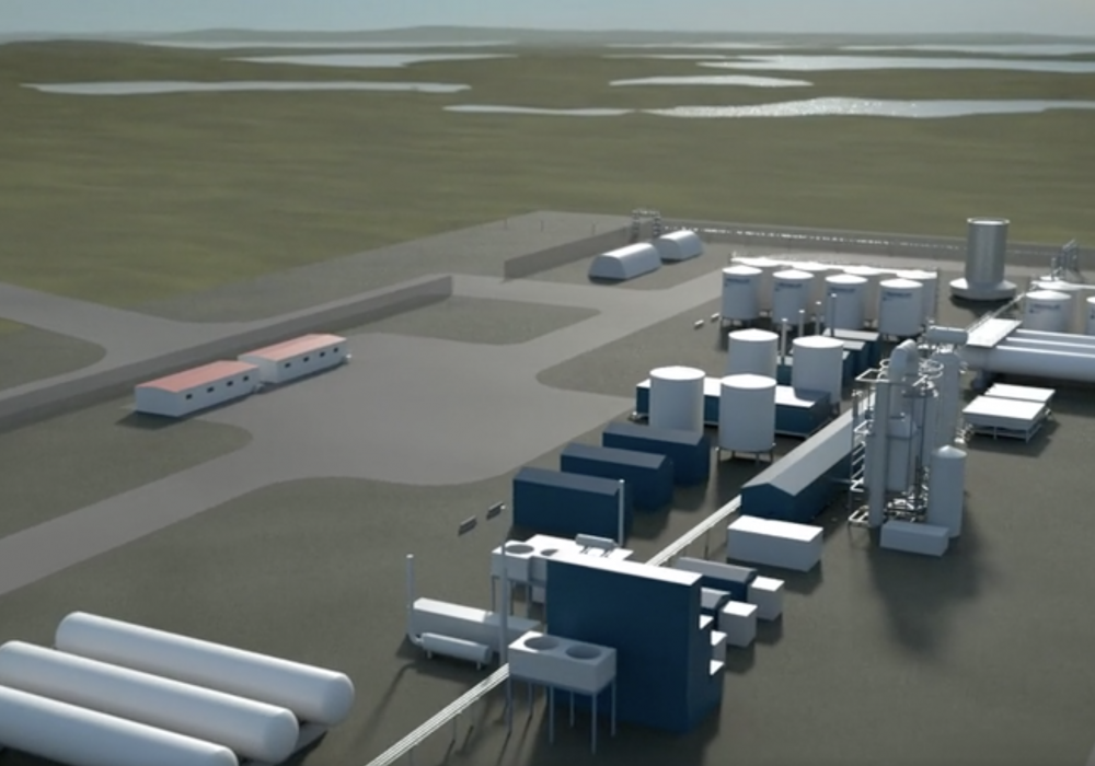 From Fly Through video 3D simulation of IPC Energy Center