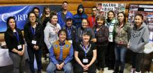 Youth and elders worked together at the Inuvialuit Youth Symposium